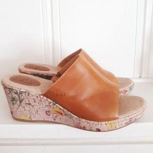 BOC Born Concept Lady Bug & Floral Wedge Sandals